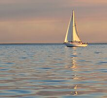 Serene Sailing by Peter Hodgson