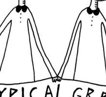 TYPICAL GRRLS Sticker