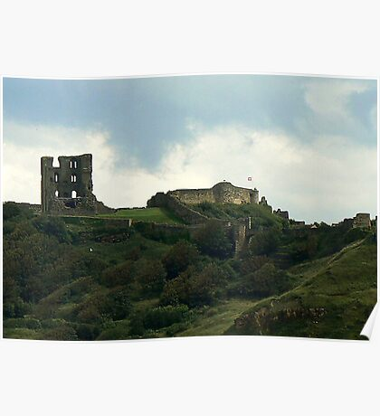 Scarborough Castle Poster
