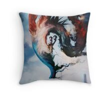 The Storm Queen Throw Pillow