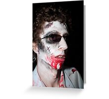 Zombie 60 Greeting Card