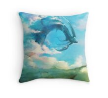 The Storm King Throw Pillow