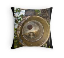 Happy Fathers Day - Coach Lamp Card Throw Pillow