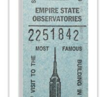 Empire State Building Sticker