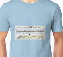 Italian Toll road ticket Unisex T-Shirt