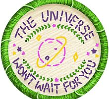 Walk the Moon Avalanche Universe Embroidery Style Patch by Jesse Knight
