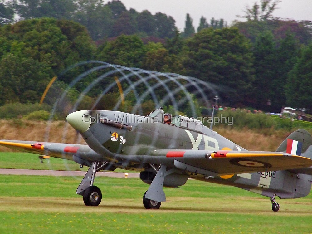 Hurricane Vortex - Shoreham Airshow 2010 by Colin  Williams Photography