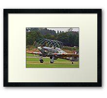 Hurricane Vortex - Shoreham Airshow 2010 Framed Print