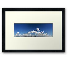 ©HCS Blue Sky And Cumulos IA Framed Print