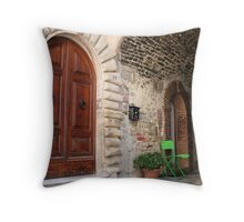 Only room for one... Throw Pillow