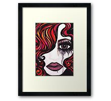 But Why Framed Print