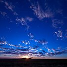 Outback Sunset 1 by Peter Doré