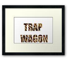 trap wagon Framed Print