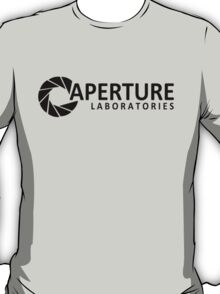 Aperture Laboratories Logo (Portal) T-Shirt