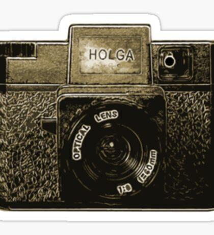 Holga plastic camera 2 Sticker