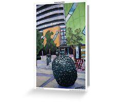 Brisbane Square Library (postcard) Greeting Card