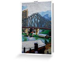 Story Bridge III (postcard) Greeting Card