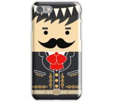 Mexican Mariachi Square Friends iPhone Case/Skin