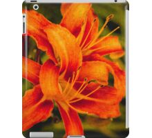 Late afternoon lilies iPad Case/Skin