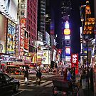 NEW YORK NEON by MIGHTY TEMPLE IMAGES