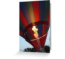 Glowing Flame Greeting Card