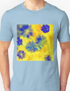 Impressionistic illustration of spring and summer flowers T-Shirt