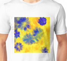 Impressionistic illustration of spring and summer flowers Unisex T-Shirt