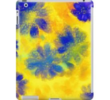 Impressionistic illustration of spring and summer flowers iPad Case/Skin