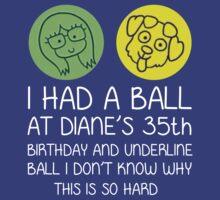 Diane's Ball White by CADesign