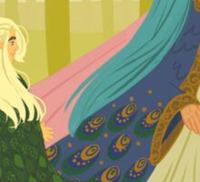 Young Thranduil admiring Thingol and Melian Sticker