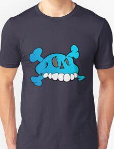 Comical Skull - Blue T-Shirt