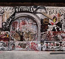 New York Street Art Panoramic by Rob D Fisher