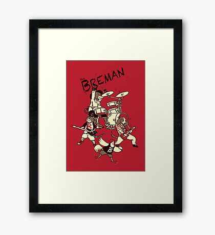 The Bremen Framed Print