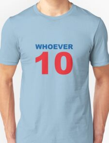 Whoever 10 - the official 2010 election tee T-Shirt