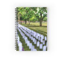 Memorial Day Spiral Notebook
