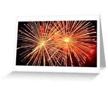 fuoco grande Greeting Card