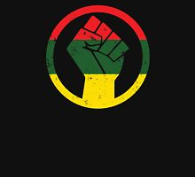 RASTA BLACK POWER FIST Unisex T-Shirt