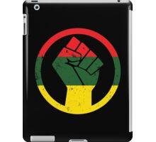 RASTA BLACK POWER FIST iPad Case/Skin