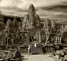 The Temples of Angkor Wat by PatrickNeumann