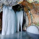 Donahue Sea Cave Ice by Stephen Beattie