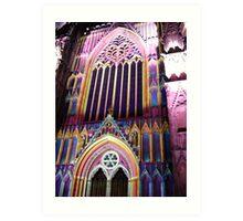 York Minster Illuminated Art Print