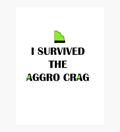 Aggro Crag from Global GUTS Photographic Print