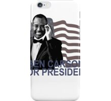 BEN CARSON FOR PRESIDENT 2016 CUTE Tee Shirts ';'.png iPhone Case/Skin