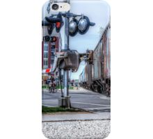 Railroad Signal iPhone Case/Skin