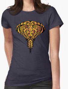 Mosaic Cobra: Bronze Pharaoh  Womens Fitted T-Shirt