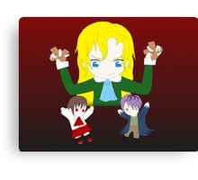 Ib - Mary the Puppeteer Canvas Print