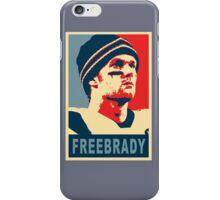 #FreeBrady - New England Patriots - #deflategate Obama Hope iPhone Case/Skin