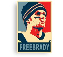 #FreeBrady - New England Patriots - #deflategate Obama Hope Canvas Print