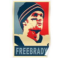 #FreeBrady - New England Patriots - #deflategate Obama Hope Poster