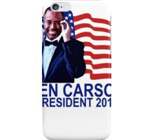 BEN CARSON FOR PRESIDENT 2016 CUTE Tee Shirts ;'.png iPhone Case/Skin